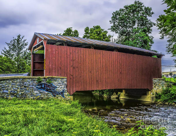 Photograph - Bridge At Landis Mill by Nick Zelinsky