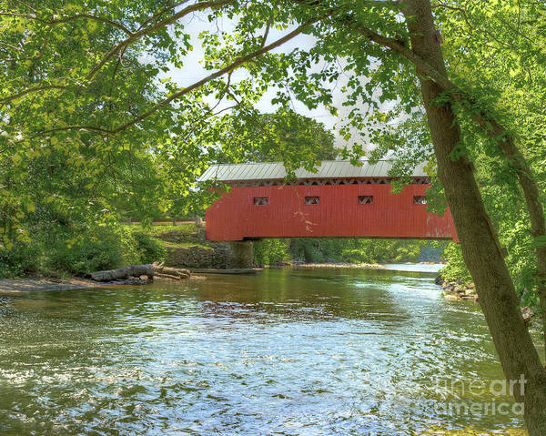 Photograph - Bridge At The Green by Rod Best