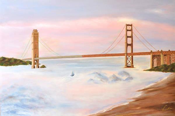 Bridge Art Print by CH Narrationism