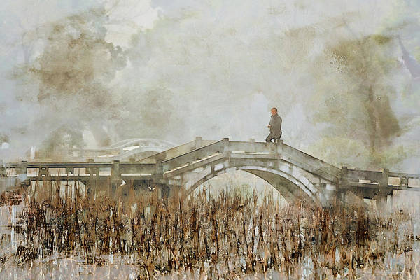 Digital Art - Bridge Crossing by Rick Lawler