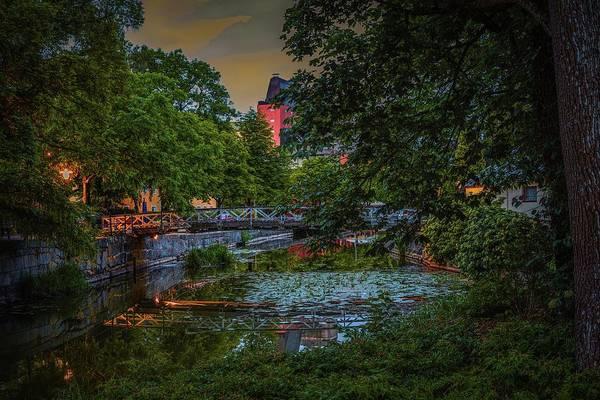 Photograph - bridge Enkoeping #h6 by Leif Sohlman