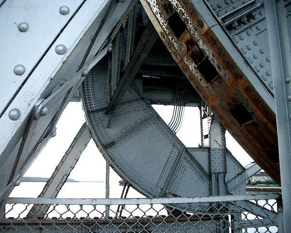 Photograph - Bridge Gears by Tim Nyberg