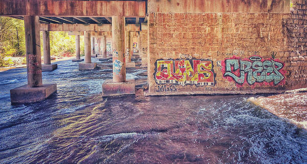 Photograph - Bridge Graffiti by Mike Dunn