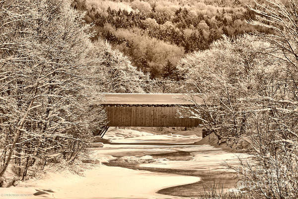 Photograph - Bridge In Sepia by Deborah Benoit