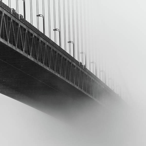 Photograph - Bridge In The Fog by Stephen Holst