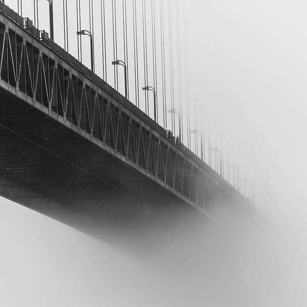Photograph - Bridge In The Fog by Stephen Holst