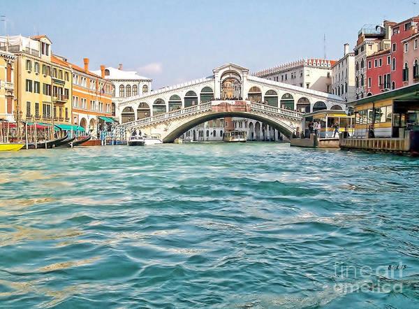 Photograph - Bridge In Venice by Roberta Byram