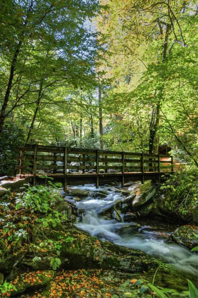 Photograph - Bridge Into Magic II by Debra and Dave Vanderlaan