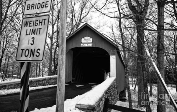 Photograph - Bridge Mono by John Rizzuto