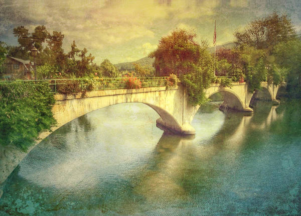 Photograph - Bridge Of Flowers  by Betty  Pauwels