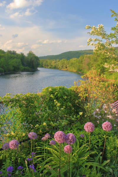 Wall Art - Photograph - Bridge Of Flowers Shelburne Falls by John Burk