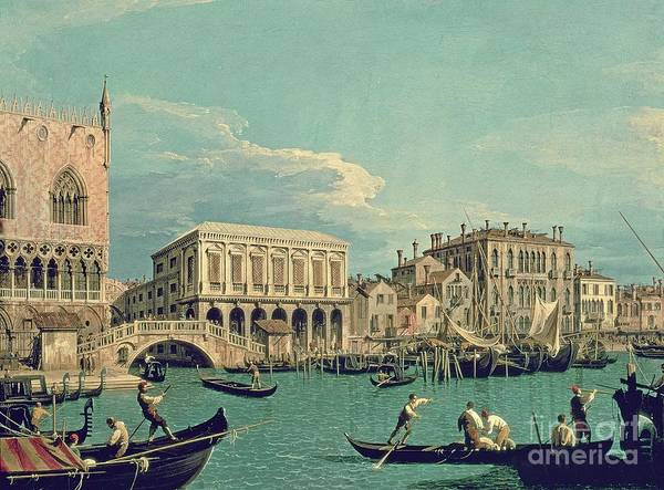 Painting - Bridge Of Sighs by Canaletto