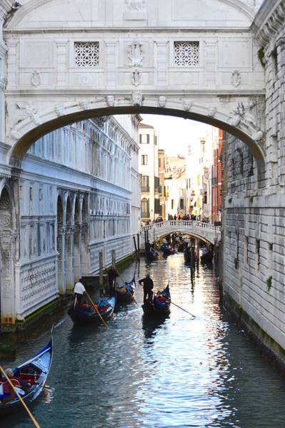 Photograph - Bridge Of Sighs In Venice by Chris Alberding