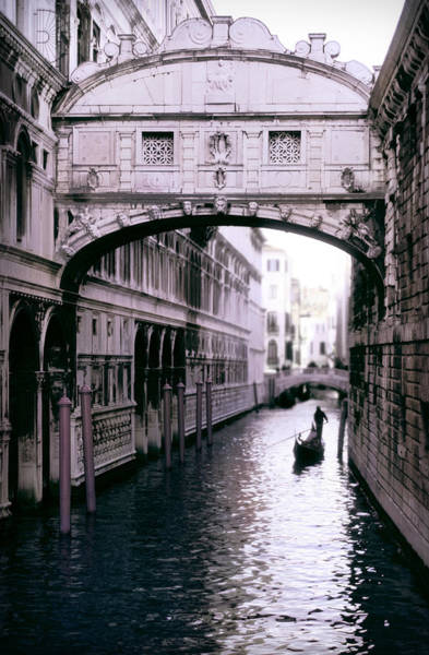 Enchanted Photograph - Bridge Of Sighs by John Warren