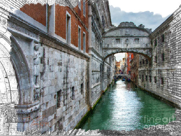 Photograph - Bridge Of Sighs by Tom Cameron