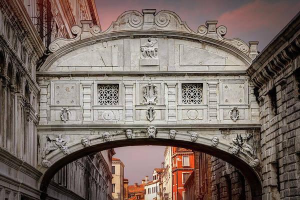 Wall Art - Photograph - Bridge Of Sighs Venice Italy  by Carol Japp