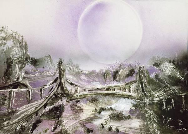 Wall Art - Painting - Bridge Of Spirits by Nandor Molnar