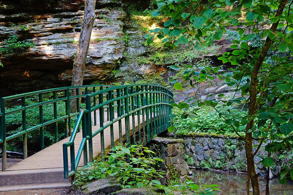 Photograph - Bridge On The Path by Mike Murdock