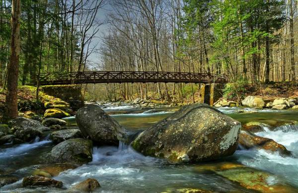 Photograph - Bridge Over Big Creek by Carol Montoya