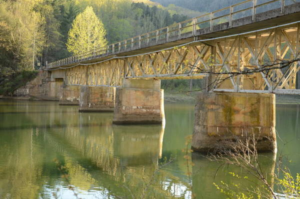 Photograph - Bridge Over Calm Water by Jim Cook