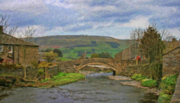 Painting - Bridge Over Duerley Beck - P4a16020 by Dean Wittle