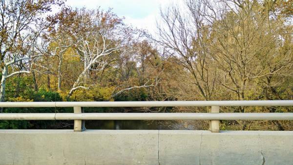 Photograph - Bridge Over Fall by Robert Knight