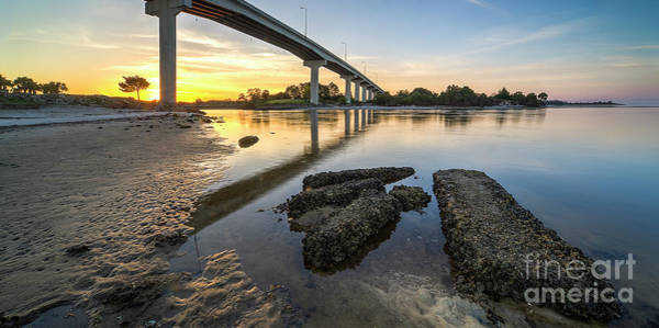 Port St. Joe Photograph - Bridge Over Port St. Joe by Twenty Two North Photography