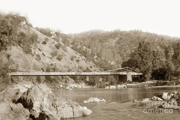 Photograph - Bridge Over River by California Views Archives Mr Pat Hathaway Archives