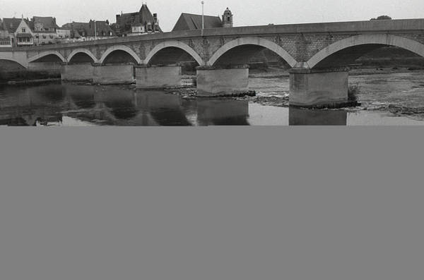 Wall Art - Photograph - Bridge Over The Loire by Terence Davis