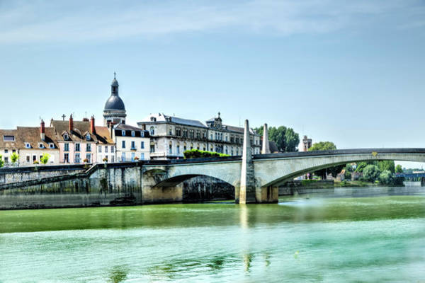 Photograph - Bridge Over The Rhone by Kay Brewer
