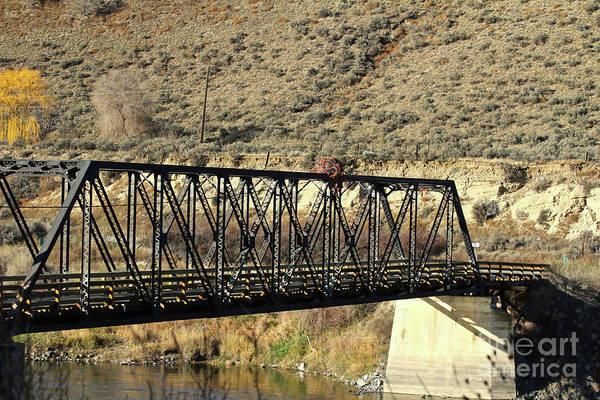 Photograph - Bridge Over The Thompson by Ann E Robson