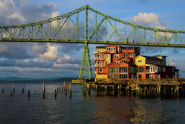 Photograph - Bridge Reflection by Robert Potts