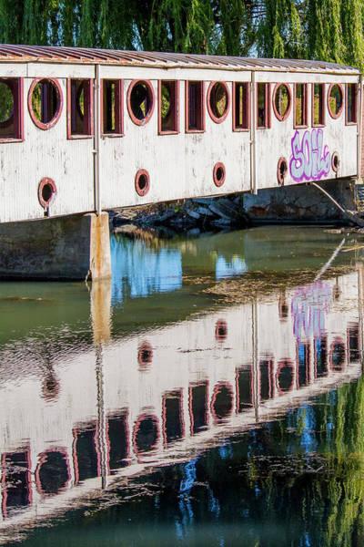 Photograph - Bridge Reflection by Chita Hunter