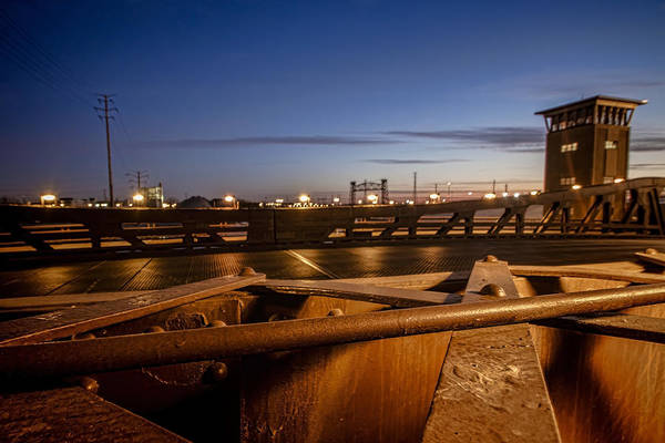 Photograph - Bridge Scene At Dawn  by Sven Brogren