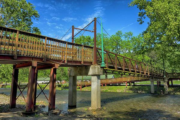 Photograph - Bridge Series Y5628 by Carlos Diaz