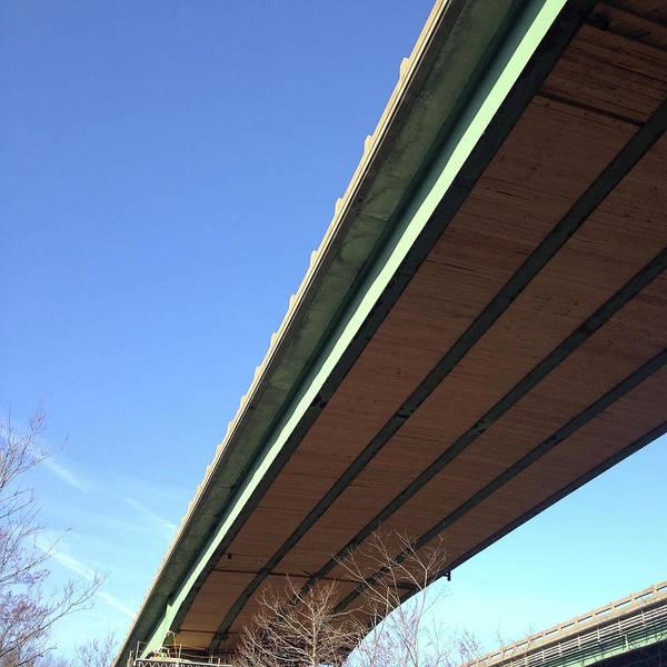 Wall Art - Photograph - Bridge Span From Below by Jason Freedman