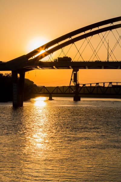 Photograph - Bridge Sunrise 1 by Patti Deters