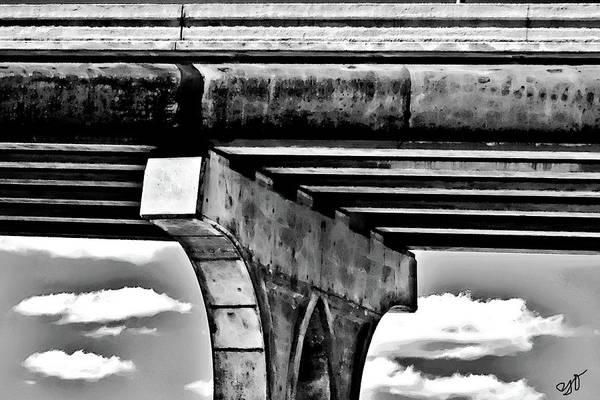 Photograph - Bridge Support by Gina O'Brien