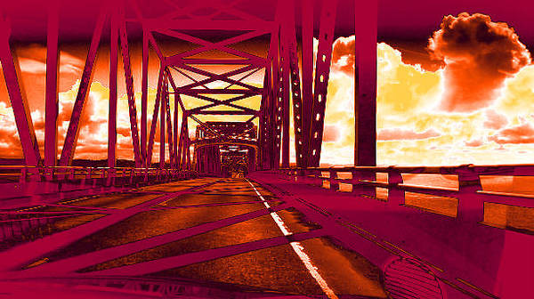 Photograph - Bridge To Astoria #1 by Anne Westlund