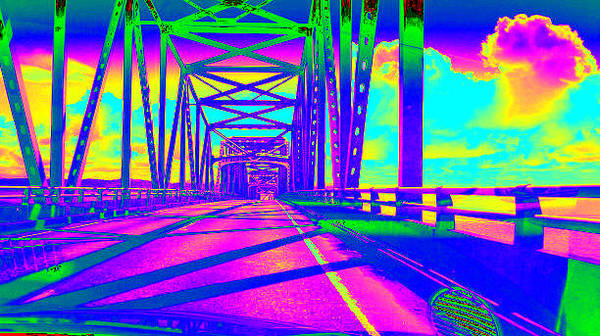 Photograph - bridge to Astoria #5 by Anne Westlund