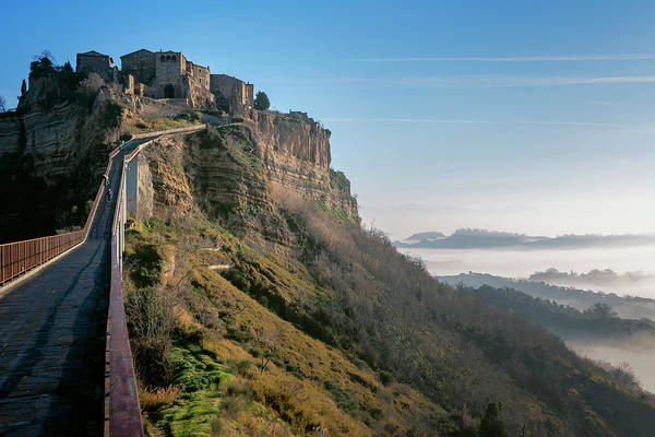 Photograph - Bridge To Civita Di Bagnoregio Italy by Joan Carroll