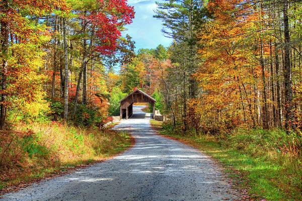 Photograph - Bridge To Fall by Dale R Carlson