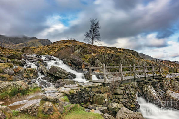 Photograph - Bridge To Idwal Lake by Adrian Evans