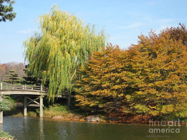 Photograph - Bridge To Japanese Gardens by Kathie Chicoine