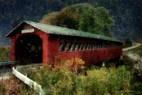 Painting - Bridge To The Past by RC DeWinter