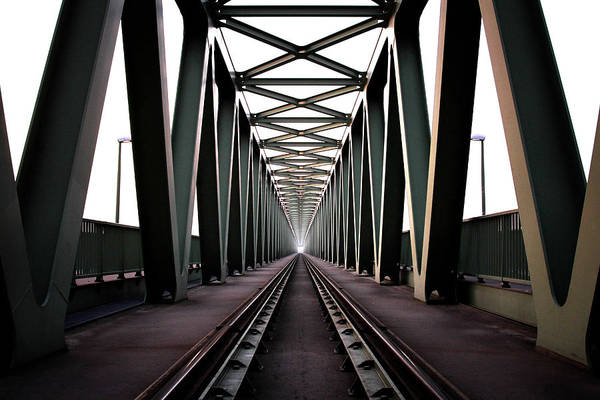 Metal Wall Art - Photograph - Bridge by Zoltan Toth