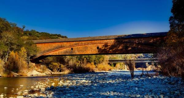Yuba River Photograph - Bridgeport Covered Bridge by Mountain Dreams