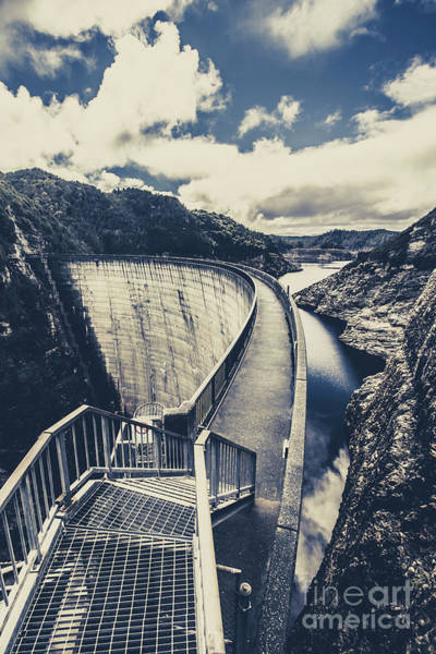 Dam Wall Art - Photograph - Bridges And Outback Dams by Jorgo Photography - Wall Art Gallery