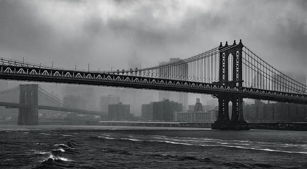 Photograph - Bridges In The Storm by Adam Reinhart