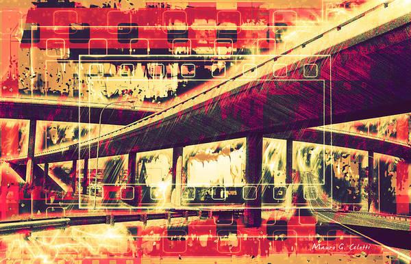 Pyrography - Bridges  by Mauro Celotti